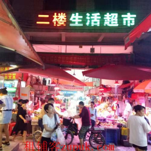 赤岗红卫新村综合市场门口店铺优转