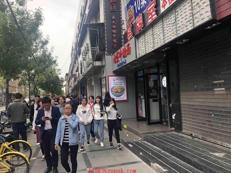 石牌东沿街20平旺铺,医院对面,适合奶茶咖啡等,超大客流!