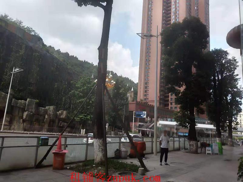 花果园金融街临街旺铺出租