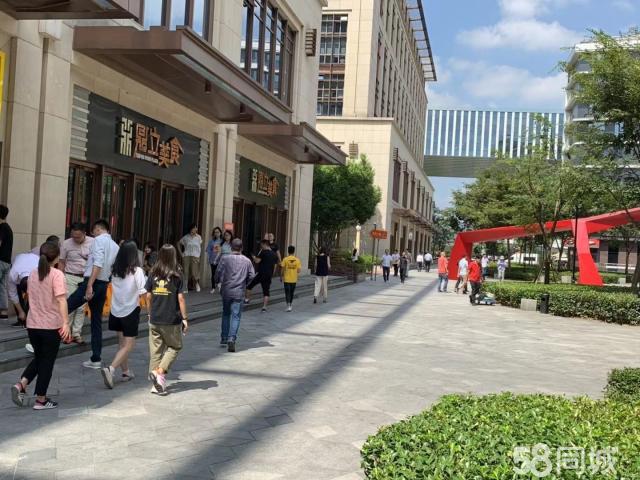 临空三万人园区沿街独立店招租 客流巨大 执照齐全 业态不限!