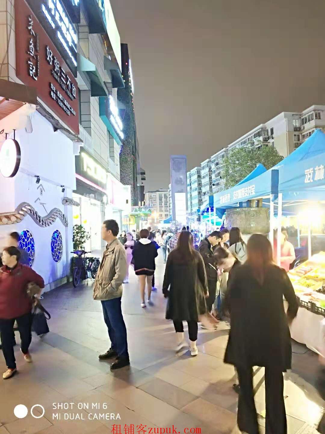 西湖沿街100平商铺招租,地势好人流量大,适合小吃主食餐饮