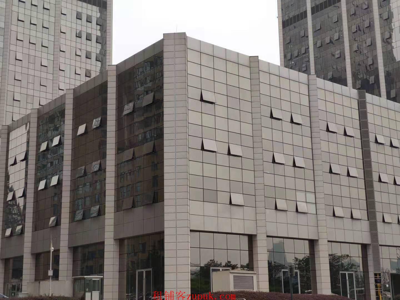 金融城 写字楼下高端小区旁 负一楼招美食城和超市 免租期一年