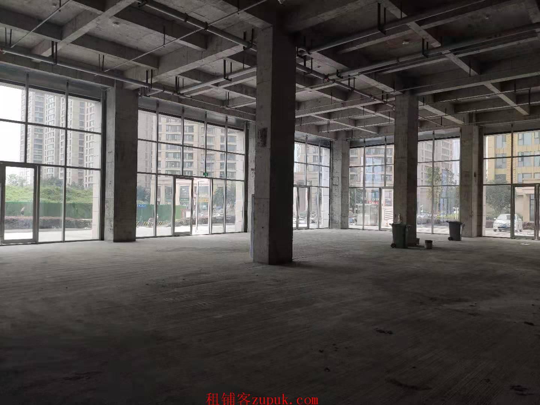 金融城  写字楼下高端小区旁 地铁口负一楼招美食城和超市 免租期一年