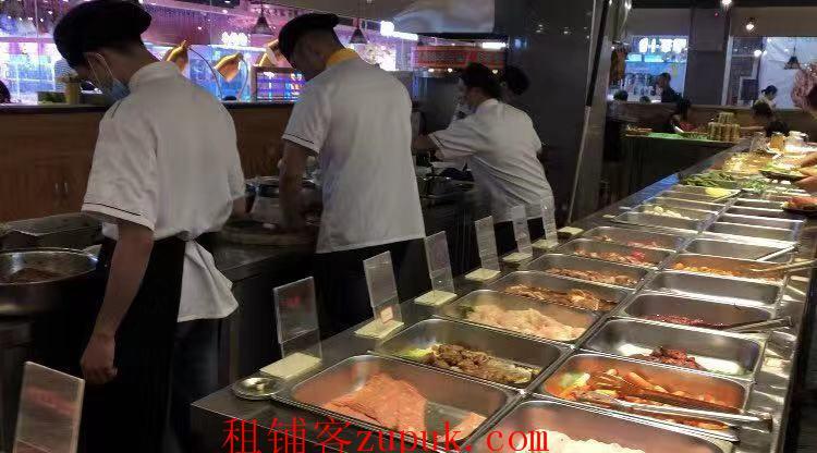 朝阳广场365平自助烤肉餐厅转让