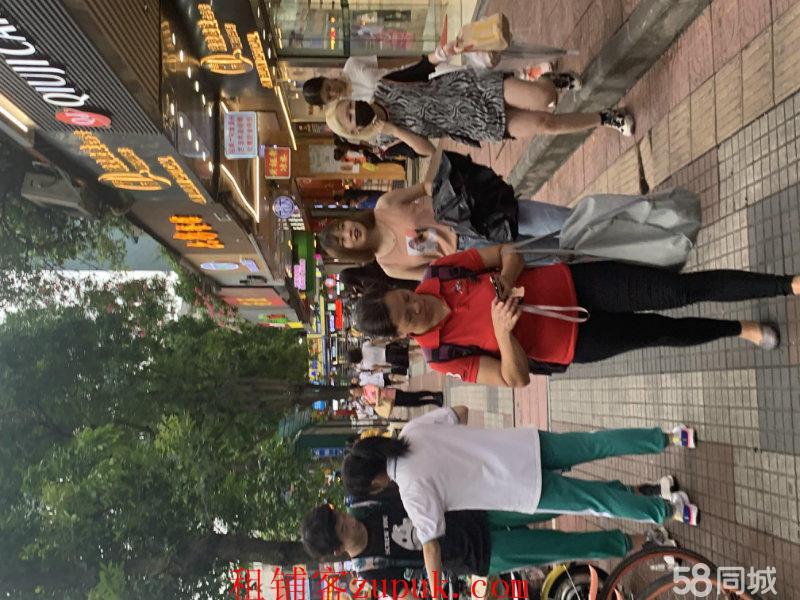 龙洞美食广场招租,可做奶茶花甲粉小吃,可明火证照齐全