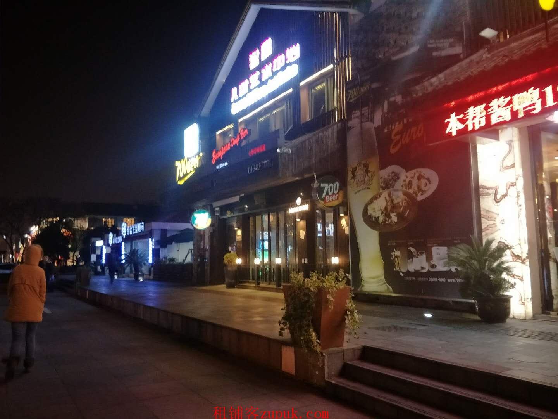 普陀宜川路甘泉路步行街临街重餐饮旺铺 大型菜场配套 餐饮稀缺