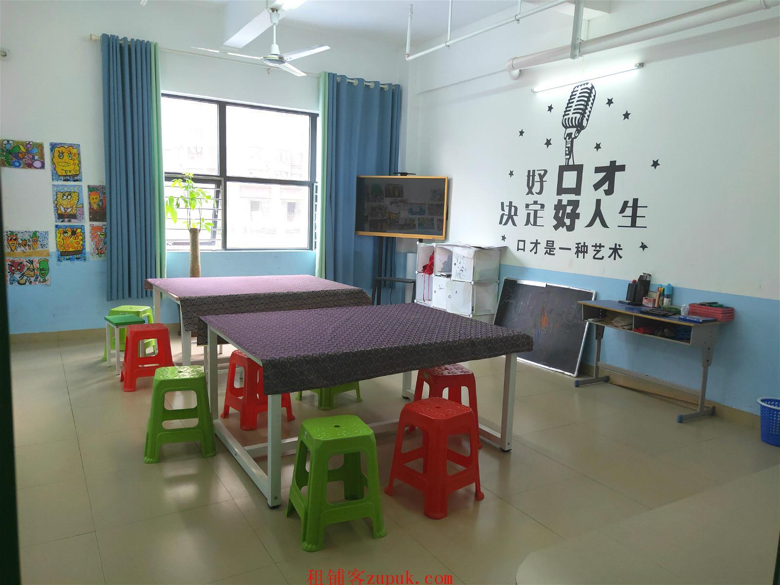 兴宁区金川路临街450平艺术培训中心整体转让,可空转