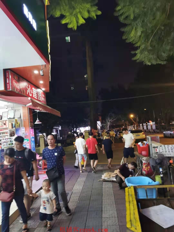 花都太子街餐饮旺铺,沿街一楼,可明火,全天客流不断!