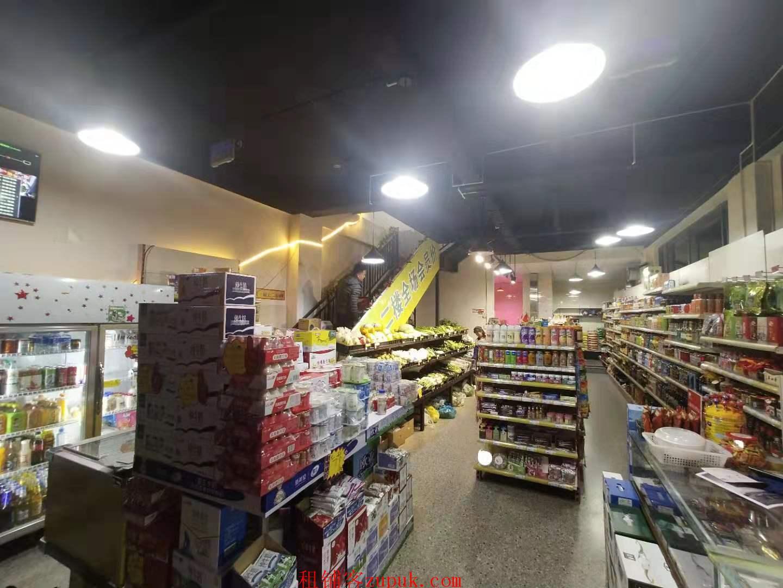 小区门口盈利超市转让