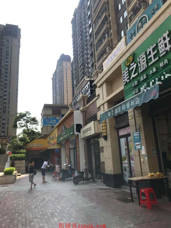 中海国际华府大门66平临街旺铺急转(可空转)