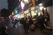 西湖文化广场旁 沿街餐饮铺火爆招商