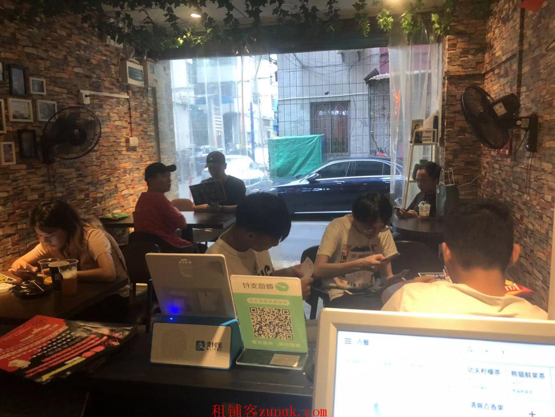 广州市天河棠下临街奶茶店转让