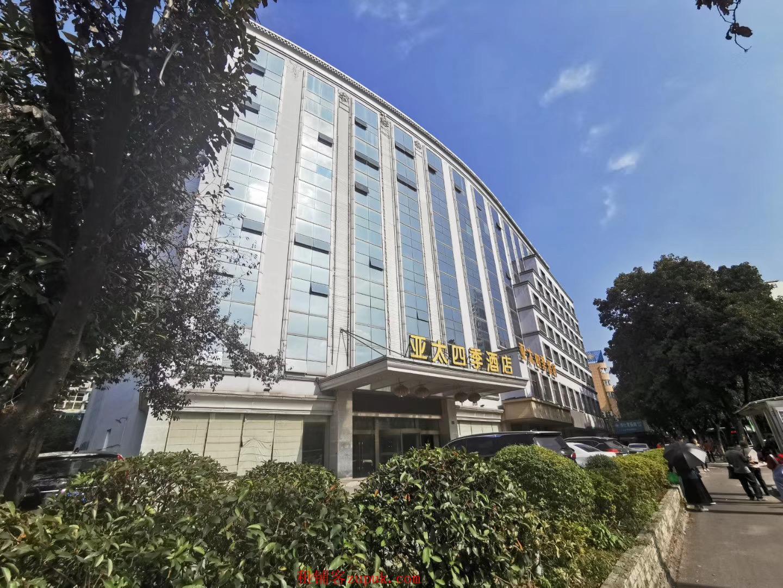 兴宁路原亚太四季酒店临街商铺488平,适合餐饮地铁口