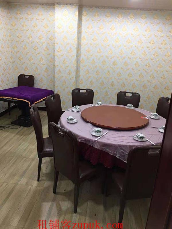 恒大城临街盈利餐饮店带烧鸡公技术