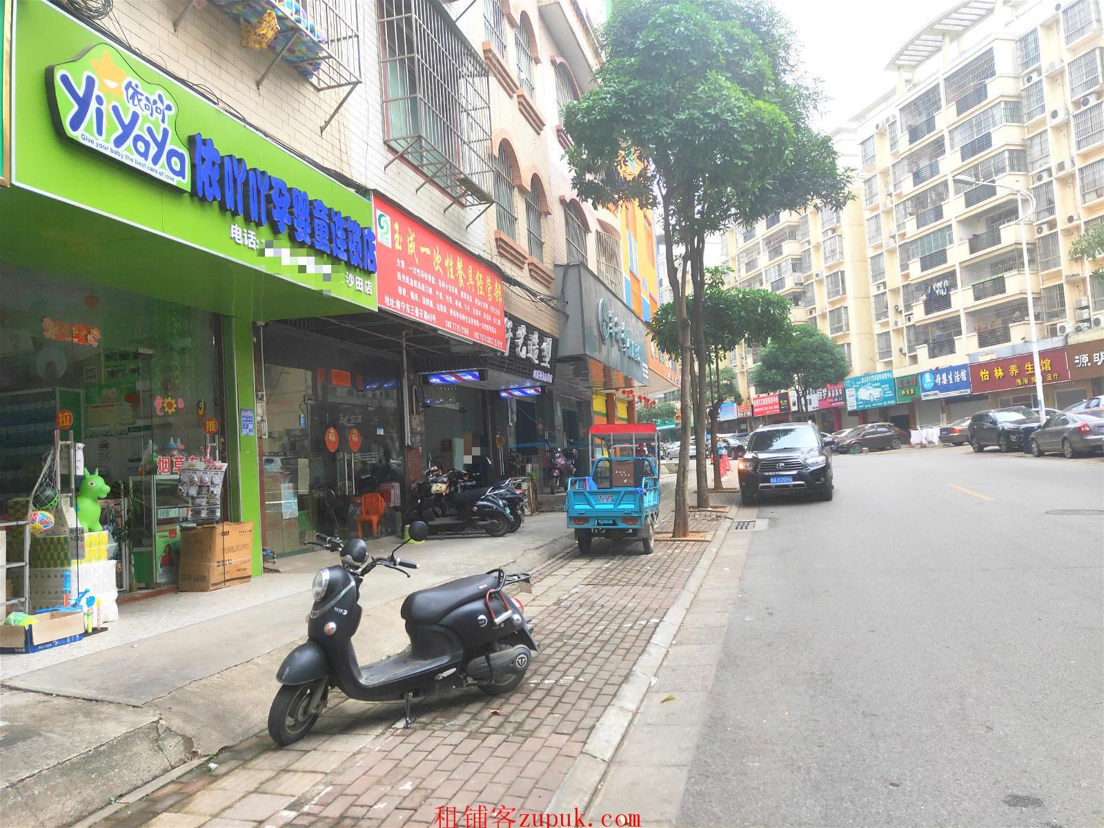 良庆区三叠石路临街36平母婴店急转让可空转