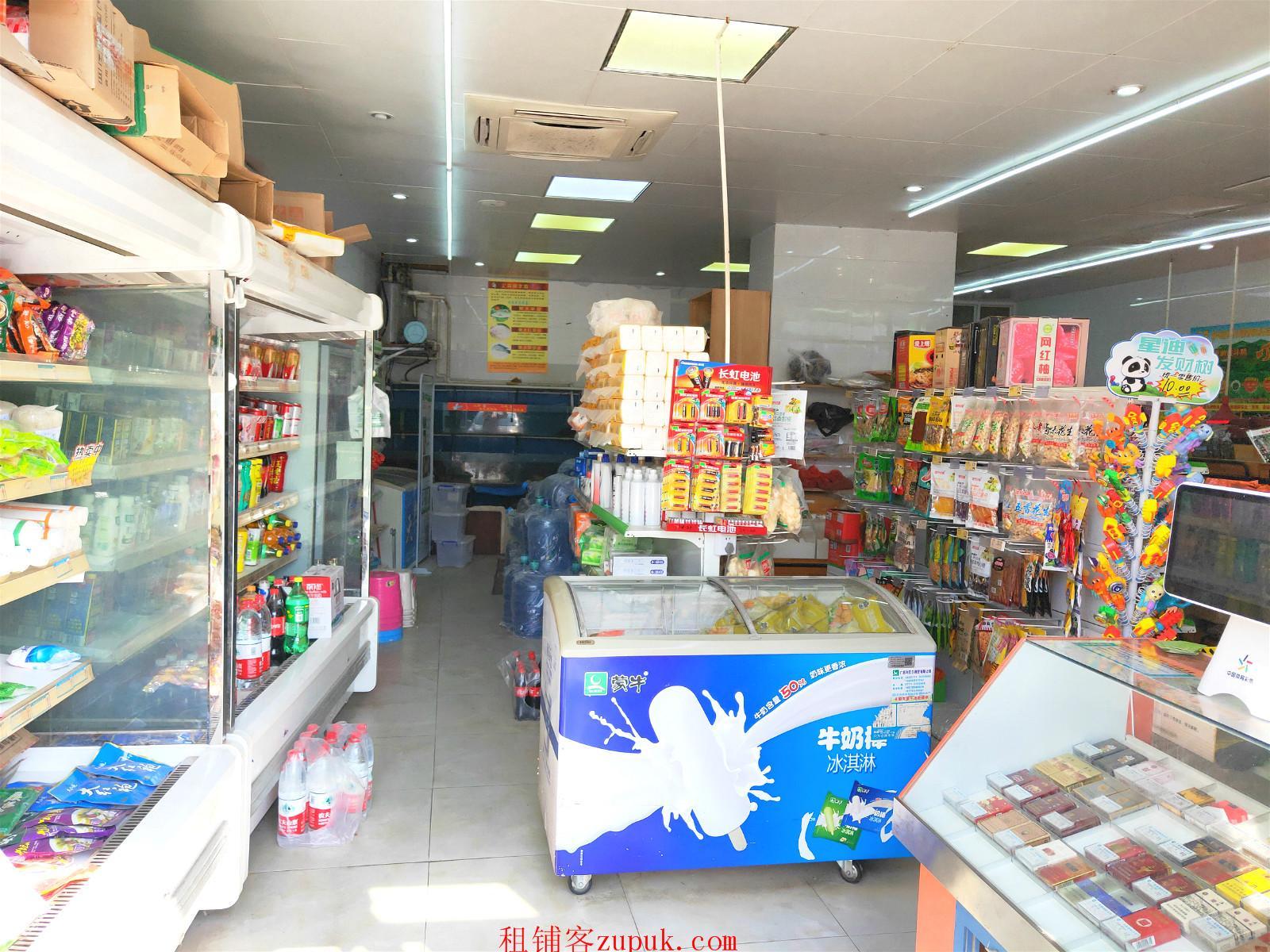 青秀区翠竹路小区门口110平米生鲜便利店转让