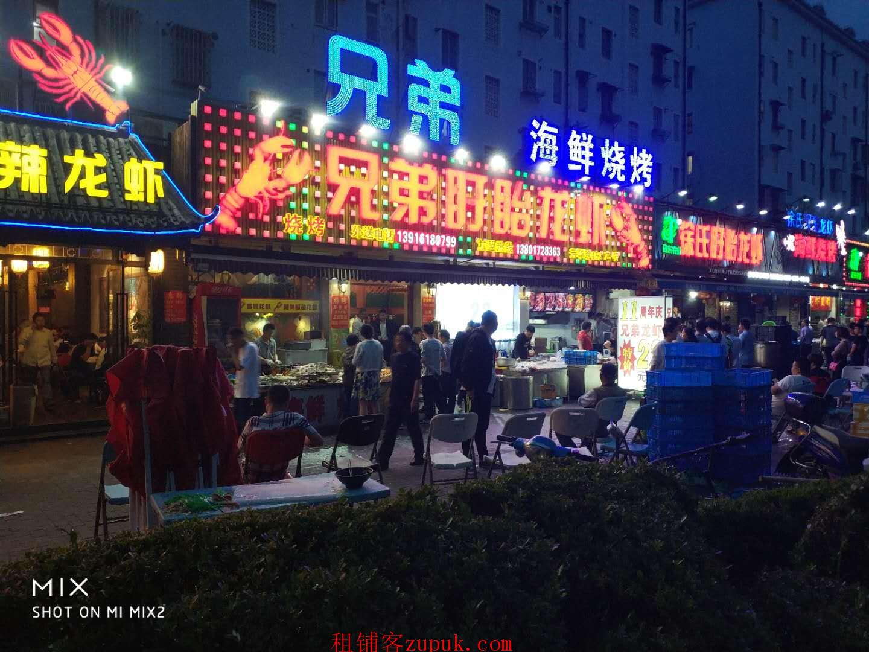 番禺大涌路重餐饮旺铺,沿街一楼,主招夜宵,可明火