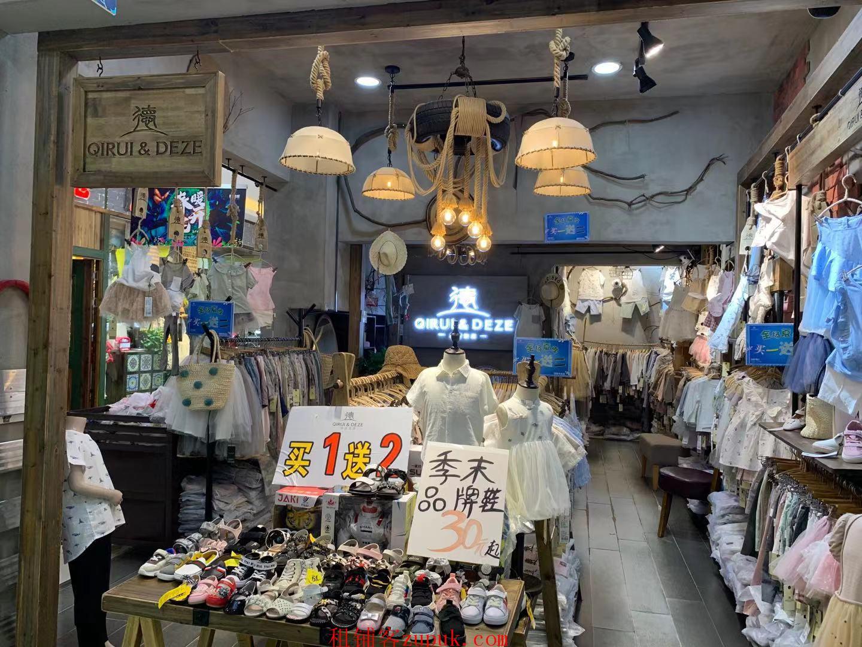 广州路人旺地段商场一楼童装店面转让
