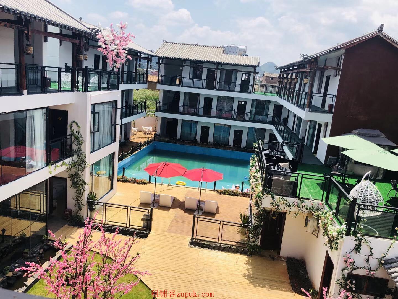 云南省普者黑景区2500平酒店出租或转让