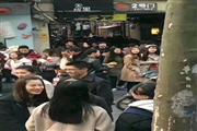 孙桥路菜市场旁沿街重餐饮80平方神铺,早中晚人流爆棚购买力强