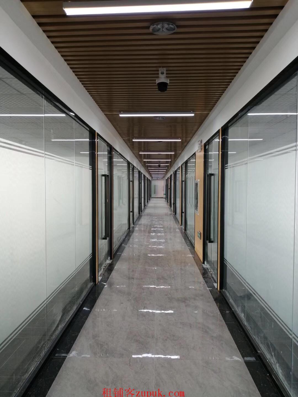 出租罗湖区水贝地铁口写字楼125平,豪华装修,可注册公司