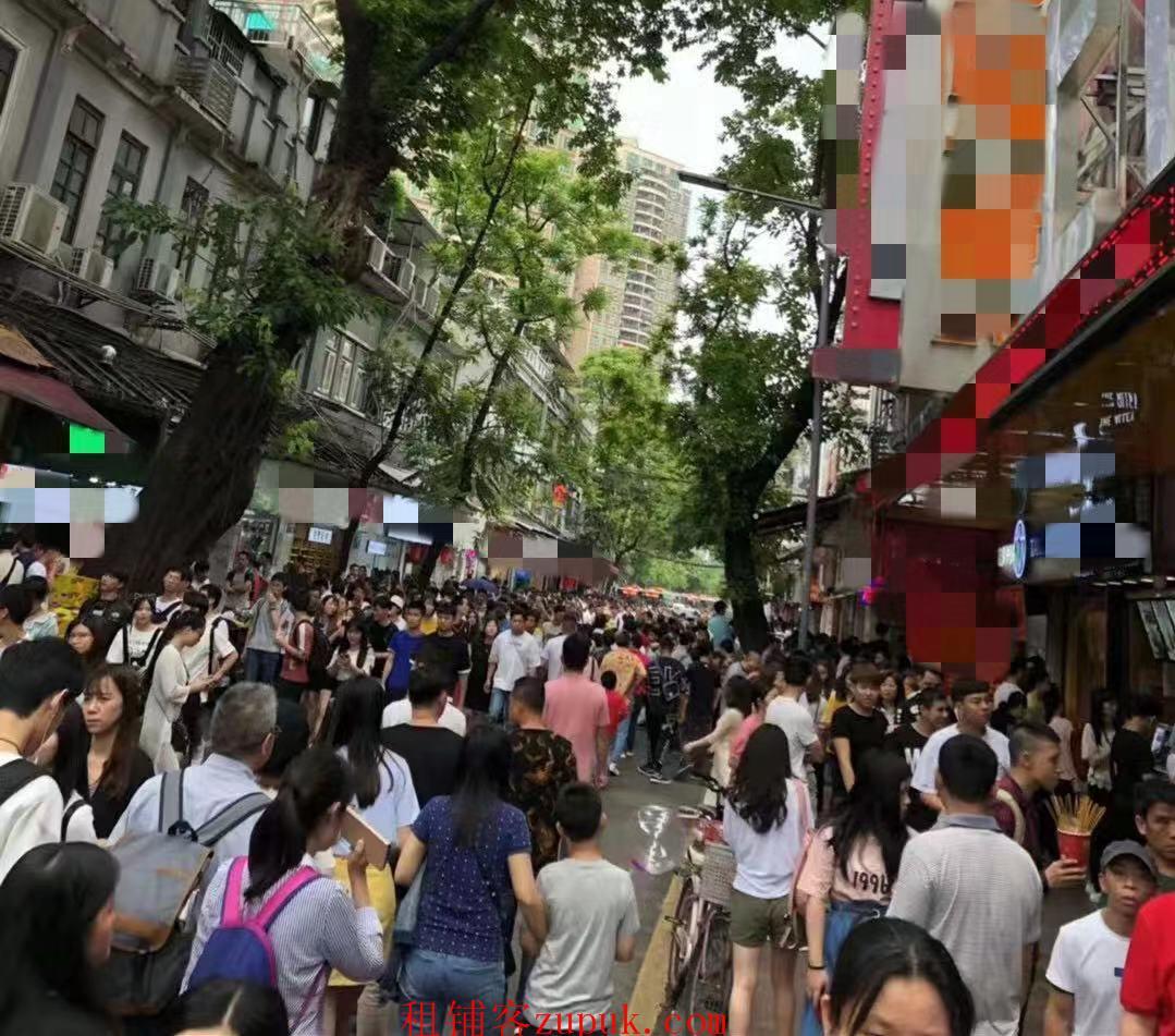 上下九步行街档口摊位 租金低客流量大 性价比高