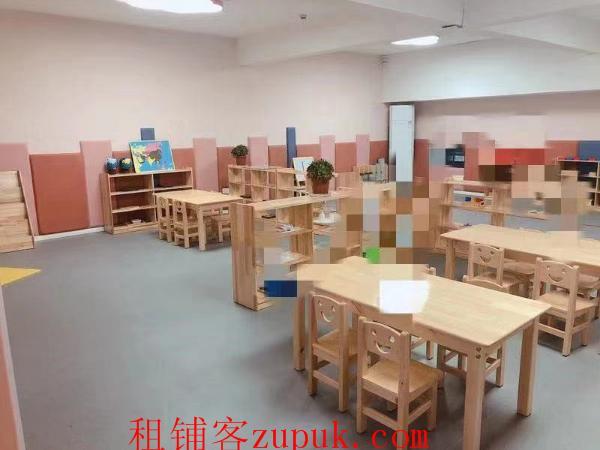 汉阳万人社区730㎡托育早教中心转让
