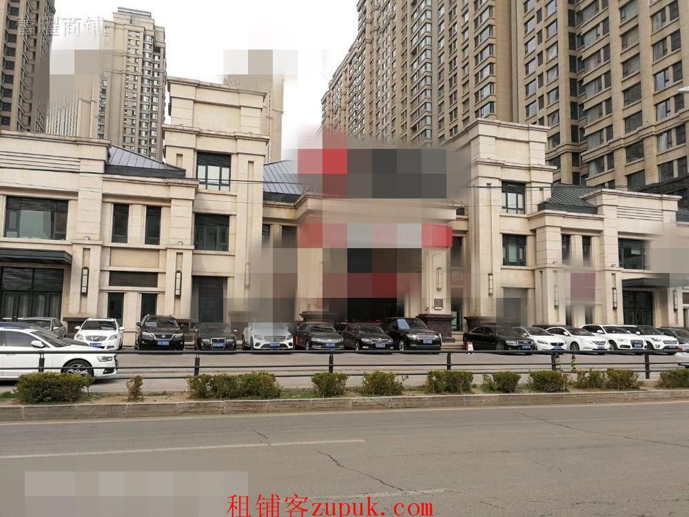[明天广场]1000平纯一层,房主直租,高端住宅区