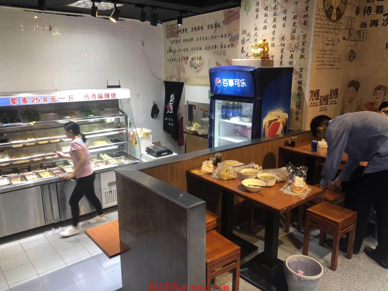 白云广州大学门口,桂花岗沿街餐饮铺,可快餐奶茶小吃麻辣烫等