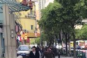 四平路沿街重餐饮旺铺,门宽4米,地段繁华人流量大,3证全