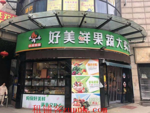 雄楚一号商业街中心临街门面转让