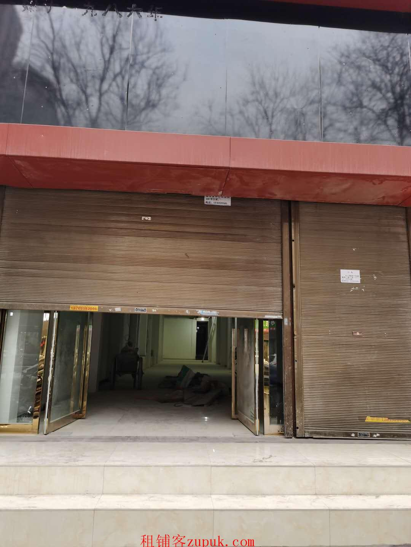 户县大十字繁华商圈独栋4层临街商铺出租无转让费