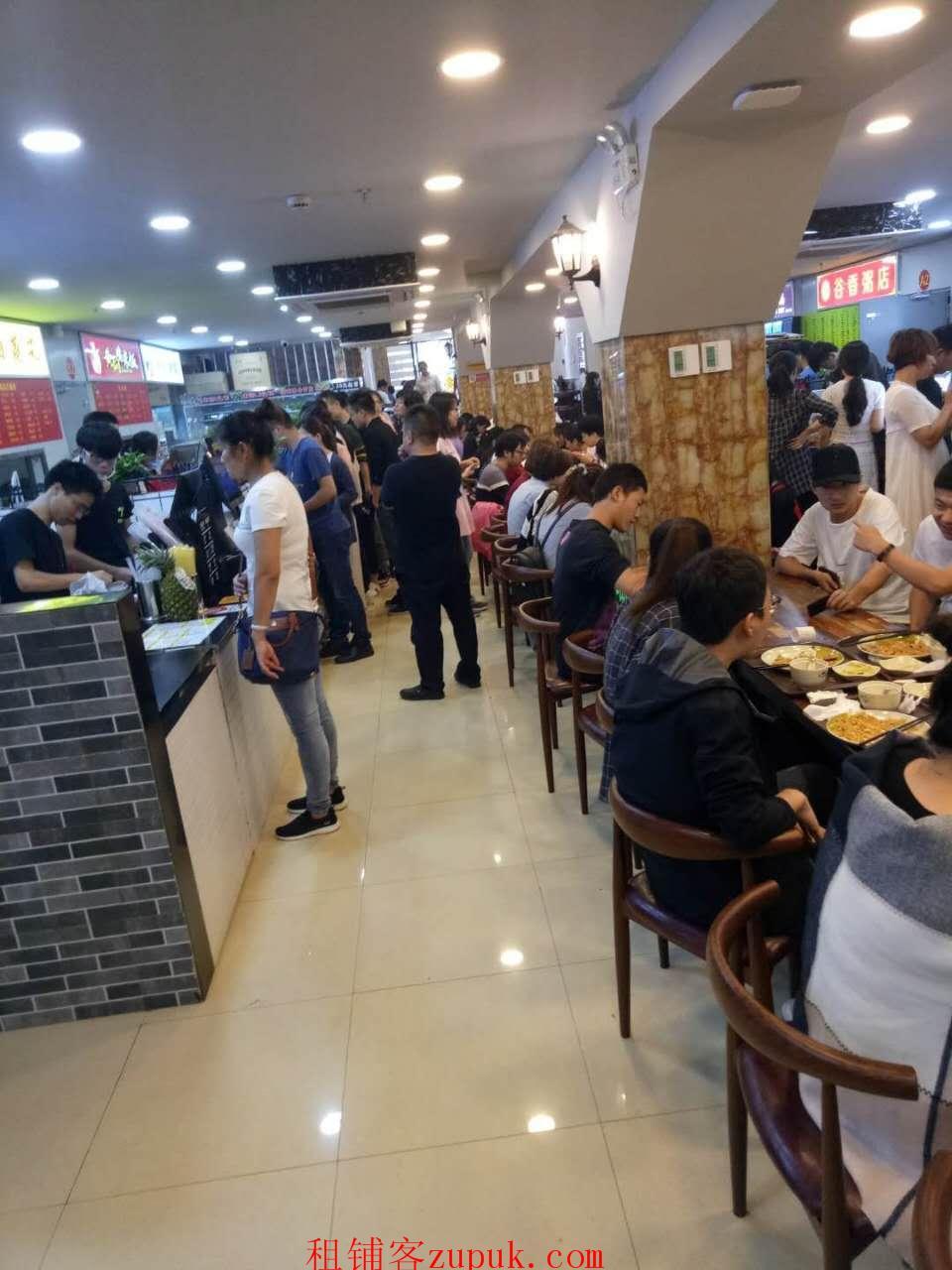 黄浦区绿地中央广场餐饮旺铺招租 T子位双展示面