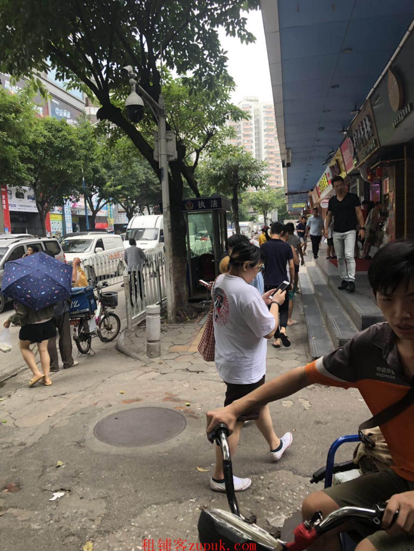 天河车陂餐饮旺铺,沿街一楼,靠近十字路口,客流超大