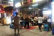 大石商圈临街餐饮一条街 重餐饮带外摆 客流集中