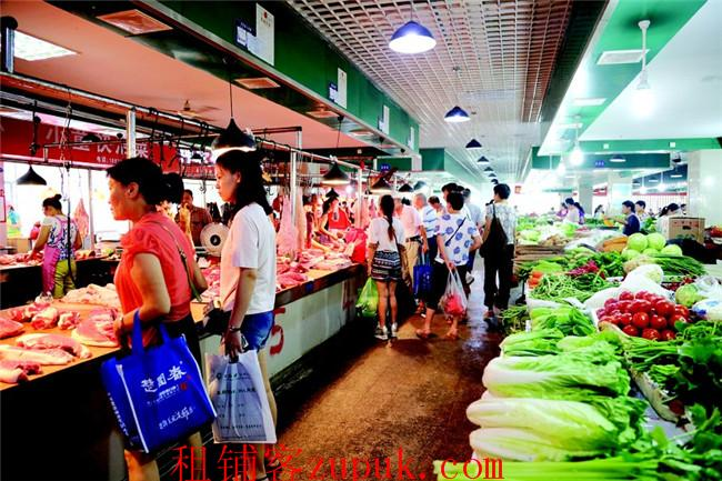 共富路沿街十字路口旺铺招租 无转让费 适合生鲜超市 百货等