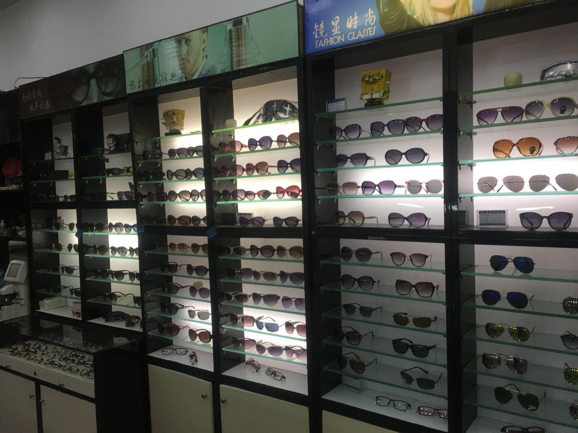 步行街眼镜店整转