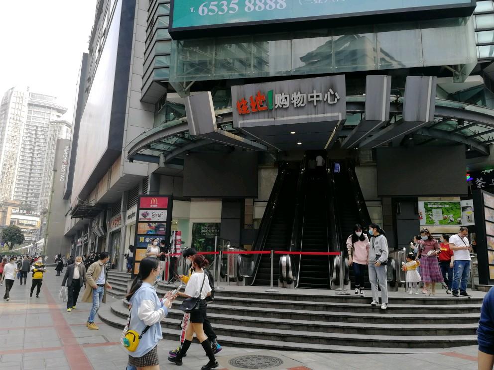 沙坪坝三峡广场炫地购物中心二楼200平旺铺房东直租