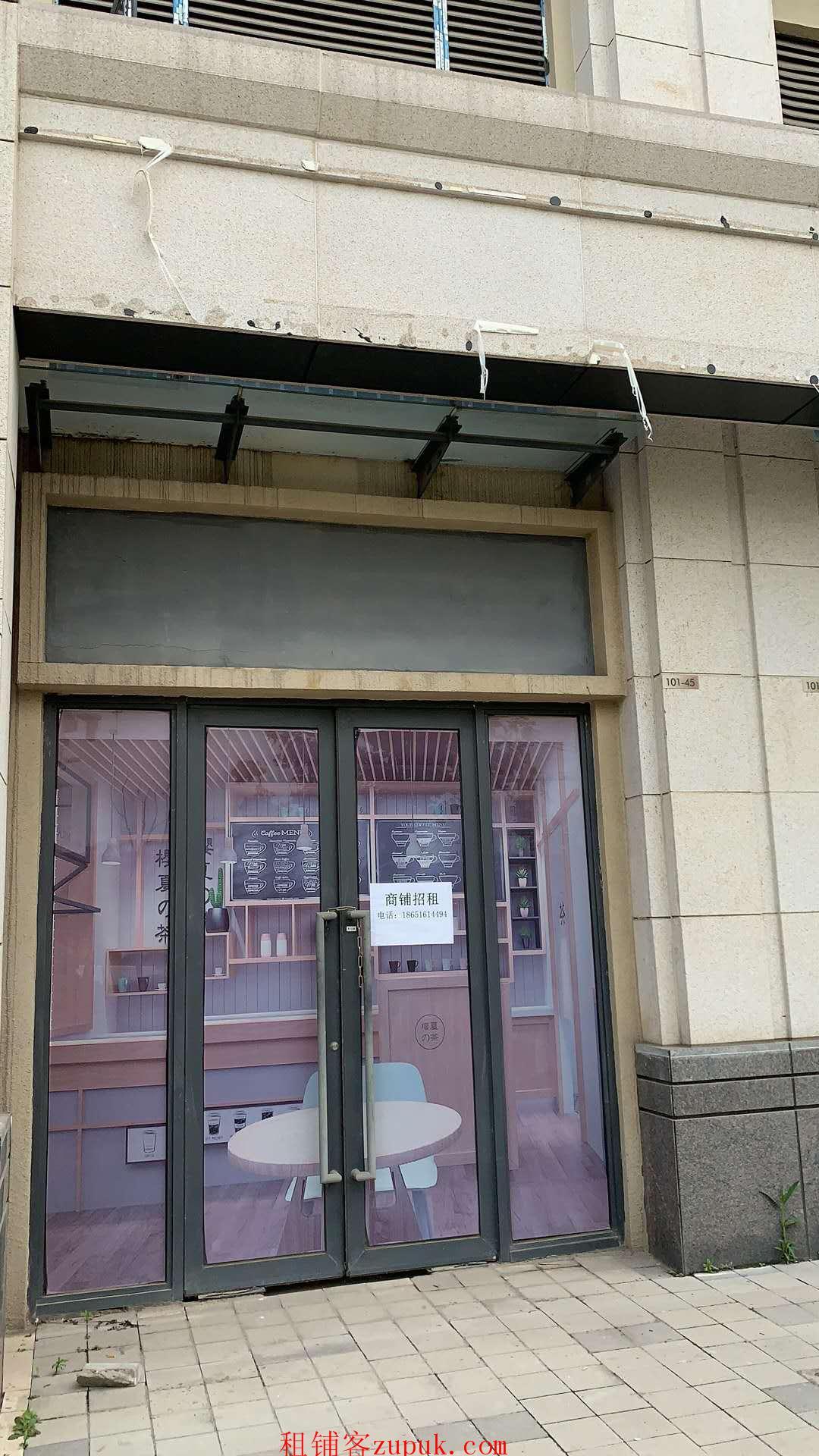 板桥临街商铺出租,近学校,靠十字路口