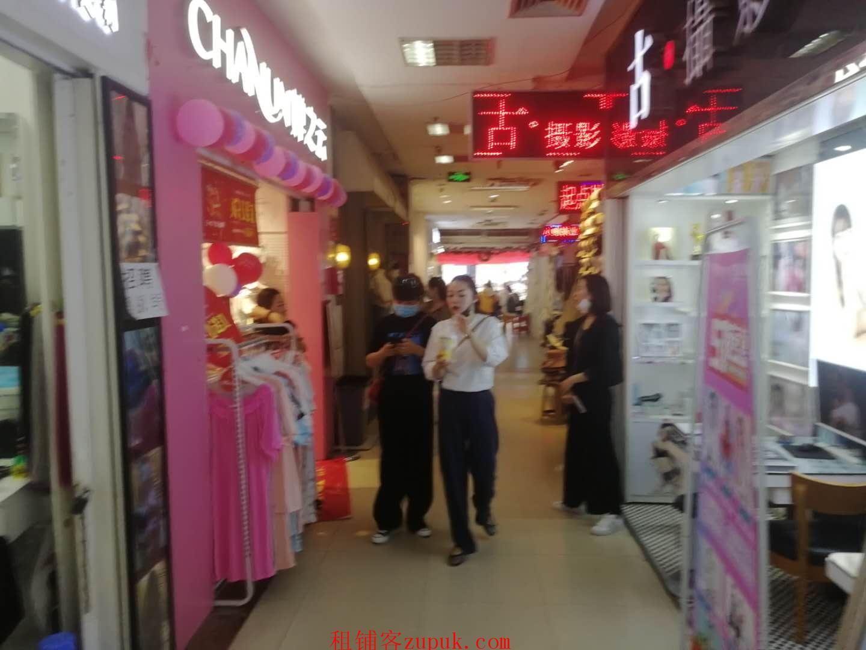 淮河路步行街太阳城3楼旺铺 房东直租无中介费