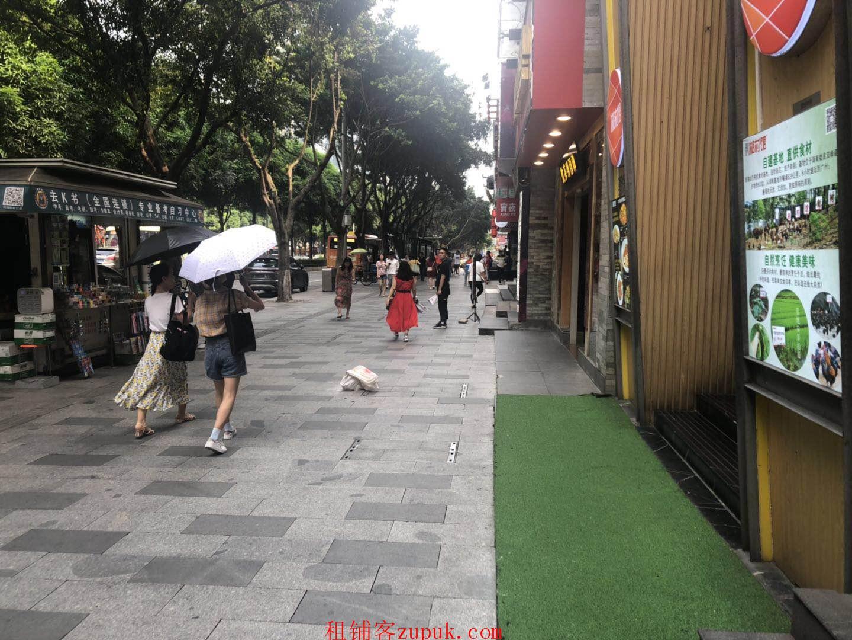 黄埔大道西临街旺铺,靠地铁口,可饮品咖啡,全天客流不断!