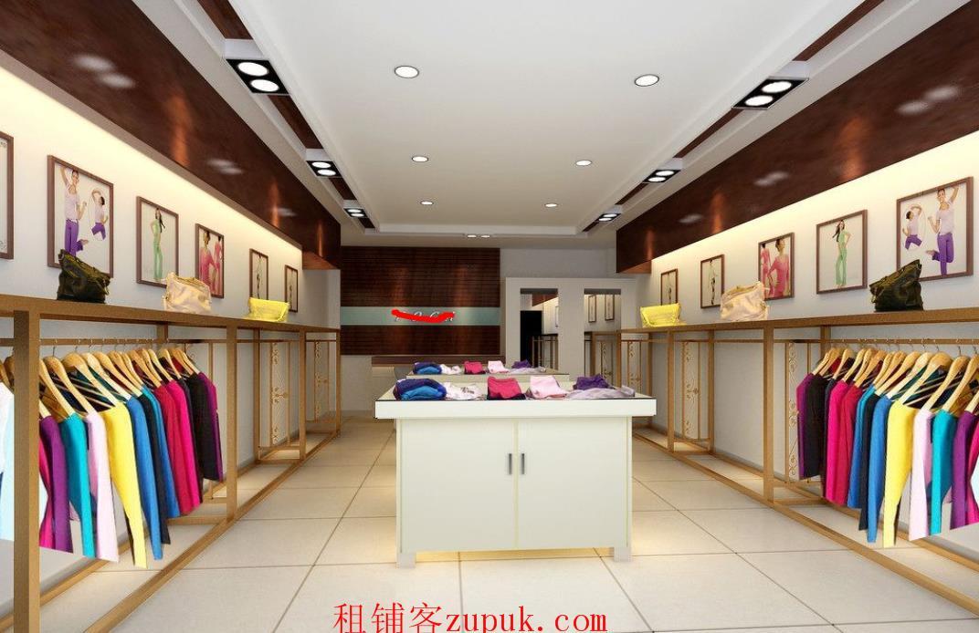 株洲王府井17楼服装店