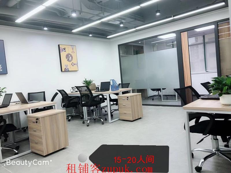 大芬10一500平精装办公室免佣直租