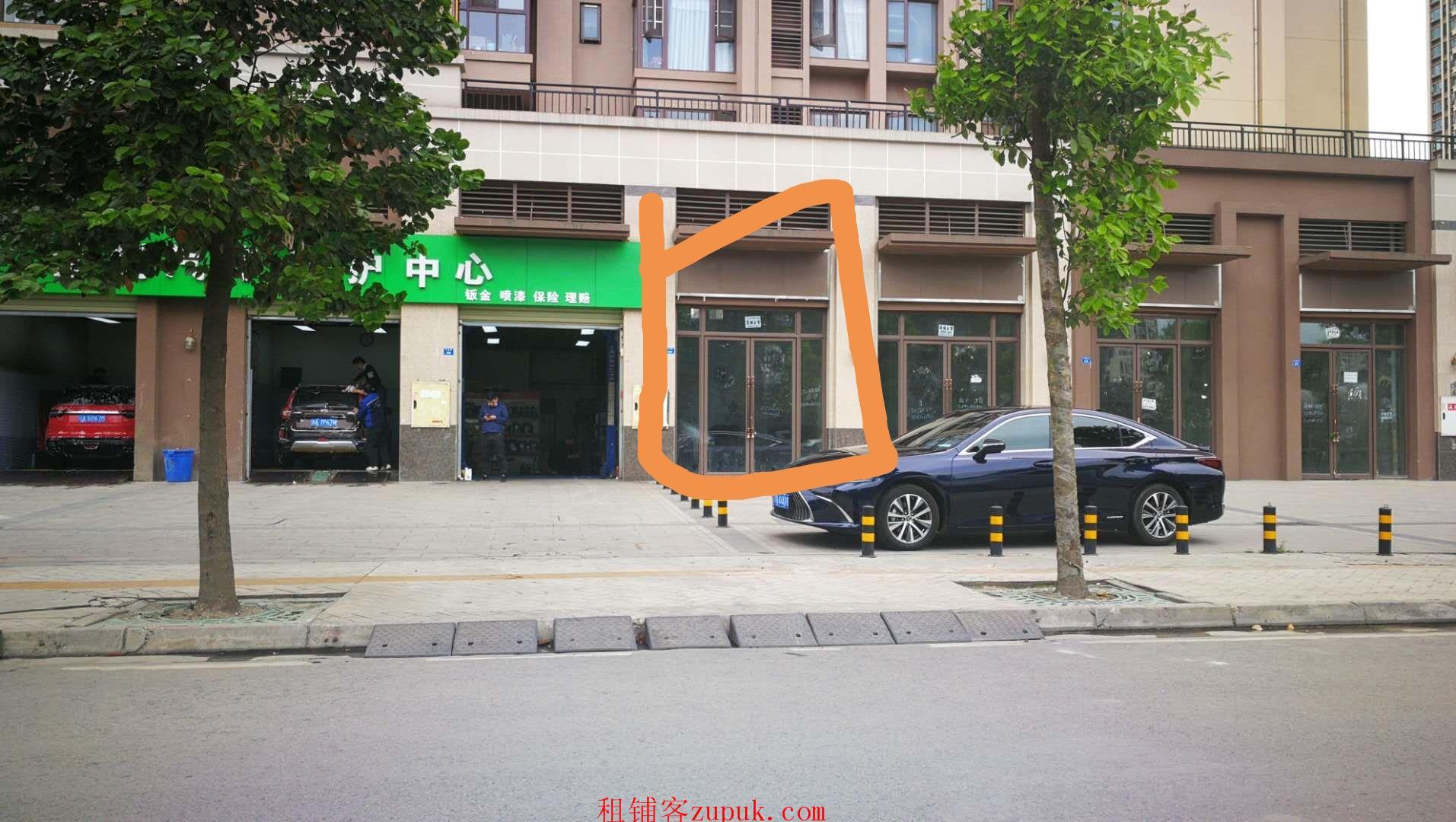 房东直租 金牛区中铁产业园 临街旺铺