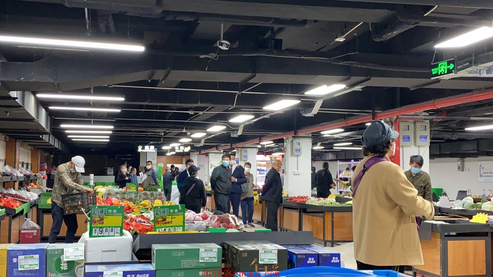 免费入驻丰台临街便民综合市场摊位招商招蔬菜水果档口出租