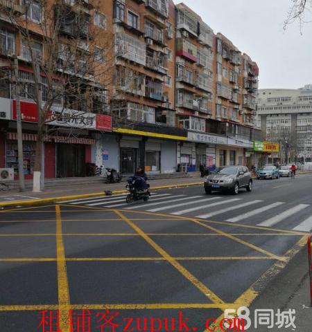 红桥五爱道临街纯一层底商招租,精装修空铺房主直租居民密集