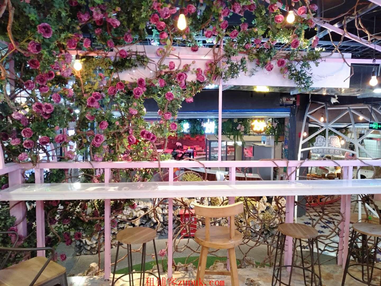 商业街网红美食城奶茶店转让  可餐饮