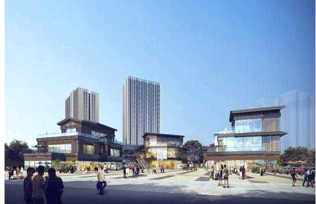 重庆九龙坡盛世国际中式天街