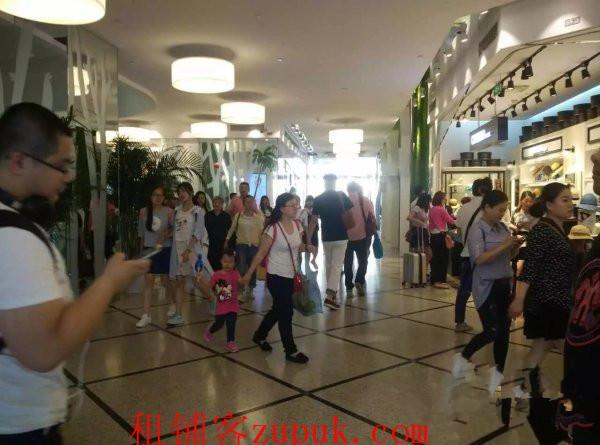 徐汇上海南站奥特莱斯商铺 餐饮人流量大业态不限 连通地铁里面
