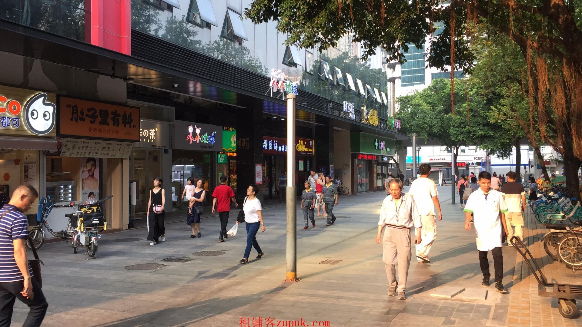 天河马场路沿街旺铺,可明火重餐饮,十字路口位置,醒目引流!